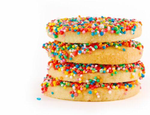 Receta para niños: galletas arcoíris, una explosión de color y sabor